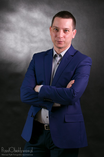 Maciej – portrait in studio