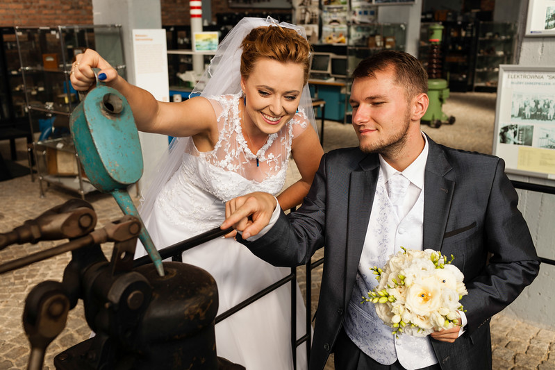 Plener ślubny Agnieszki i Olafa